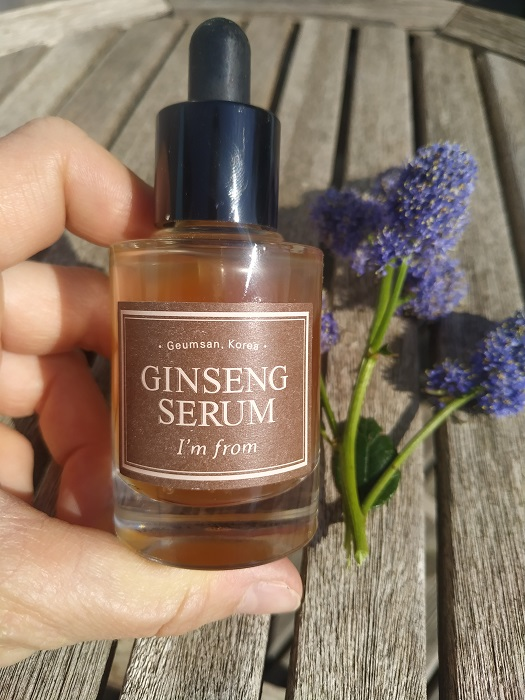 Mon sérum au Ginseng I'm From